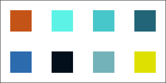 colour pallete for granular synth design