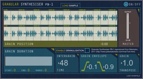 PB Granular Synth Design